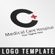 Medical Care Hospital Logo Template - GraphicRiver Item for Sale
