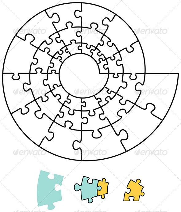 GraphicRiver Spiral Puzzle 5297707