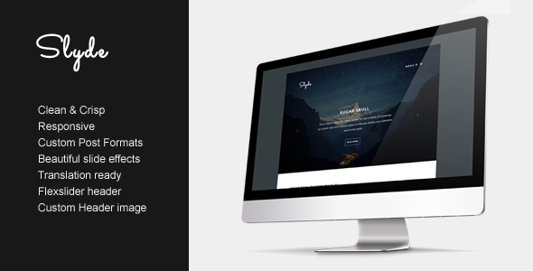 ThemeForest Slyde Showcase your writing 5269849
