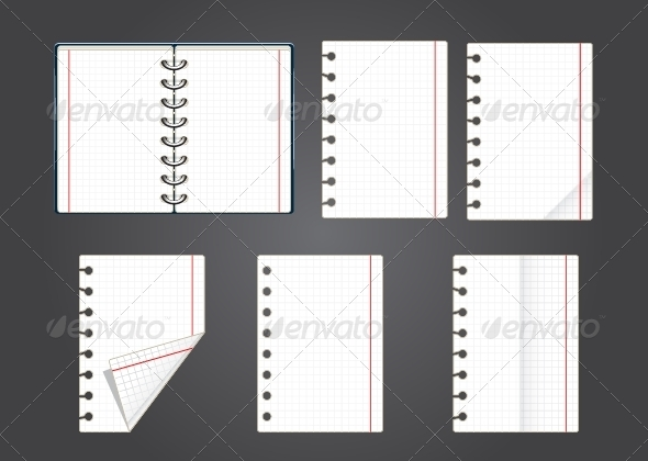GraphicRiver Copybook Pages 5298119
