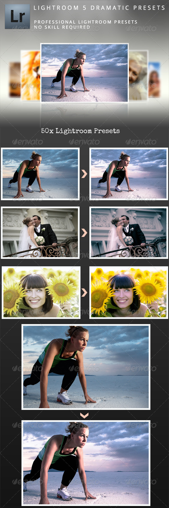 Lightroom 5 Dramatic Presets - Lightroom Presets Add-ons