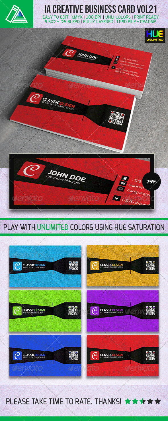 GraphicRiver IntenseArtisan Business Card VOL.21 5298258