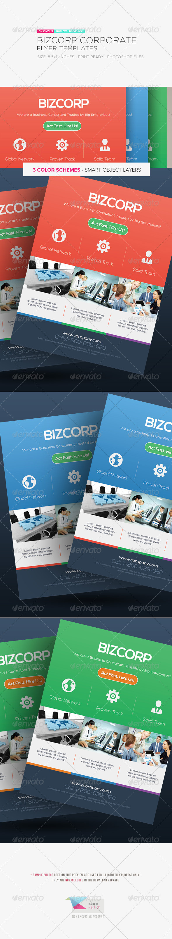 GraphicRiver Corporate Flyer Templates Vol.01 5298549