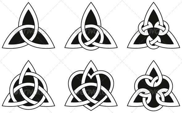 GraphicRiver Celtic Triangle Knots 5298557