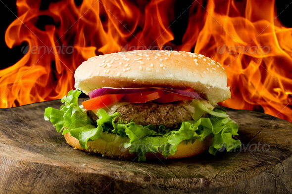 Stock Photo - PhotoDune Hamburger 550020