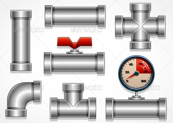 GraphicRiver Aluminum Pipes 5298656
