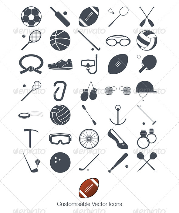 GraphicRiver Sport Icon Pack 2013 5293374