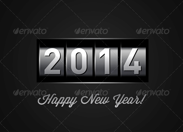 GraphicRiver New Year Counter 2014 5299033