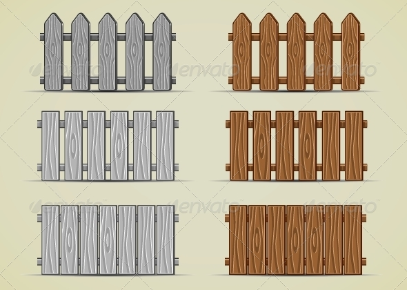GraphicRiver Wooden Fence 5299149