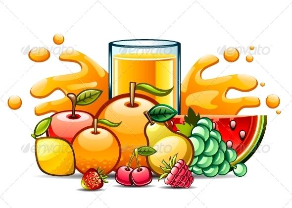 GraphicRiver Juice 5299236
