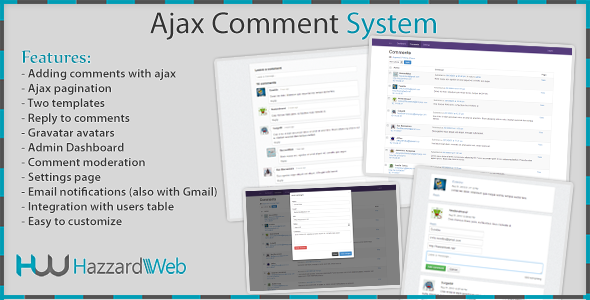 CodeCanyon Ajax Comment System 5299460