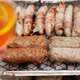 bbq barbecue kebab sausage disposable - PhotoDune Item for Sale