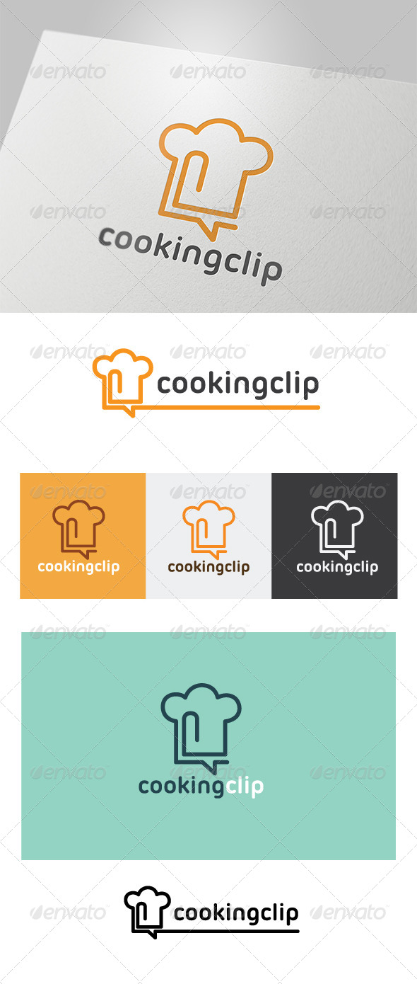 GraphicRiver Cooking Clip Logo 5300795