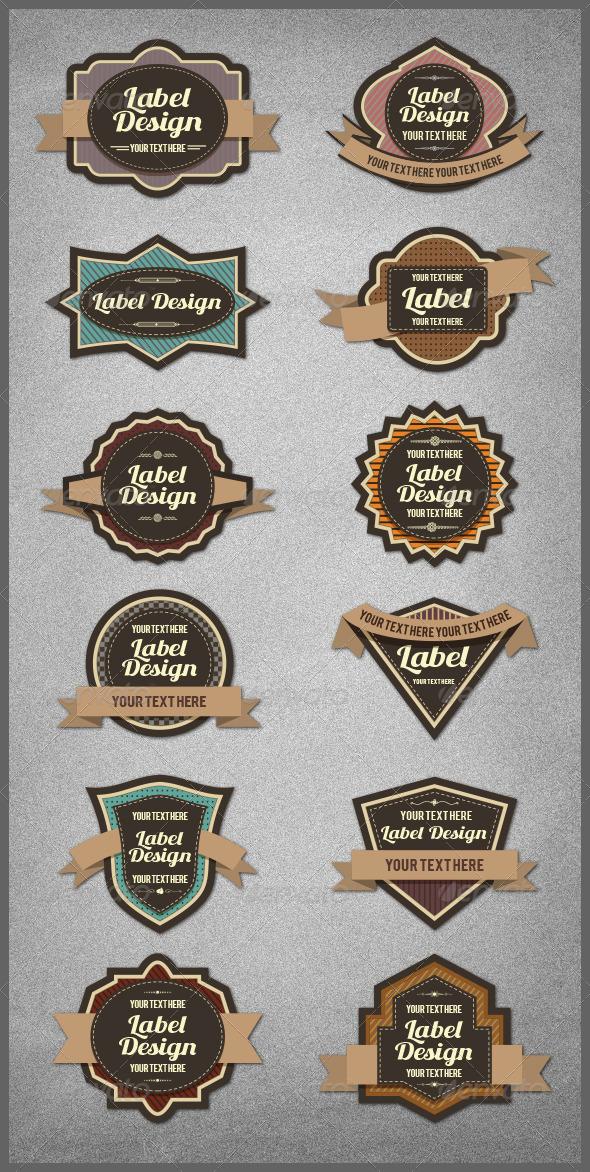 GraphicRiver Label Templates 5301142