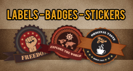 Labels - Badges - Stickers