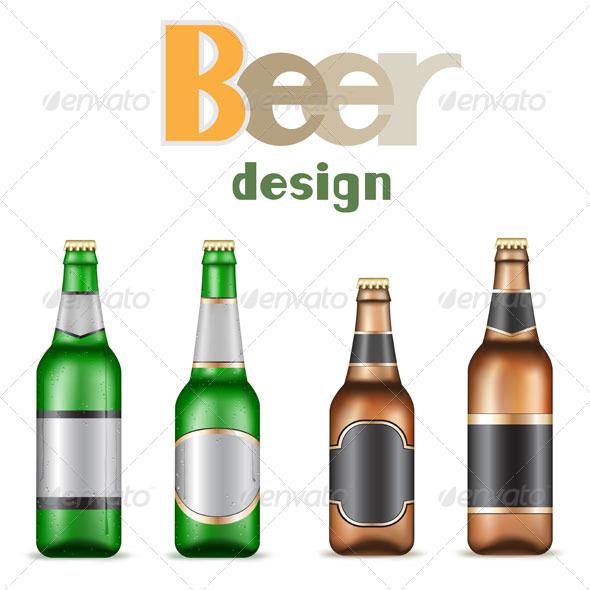 GraphicRiver Beer Bottles 5301867