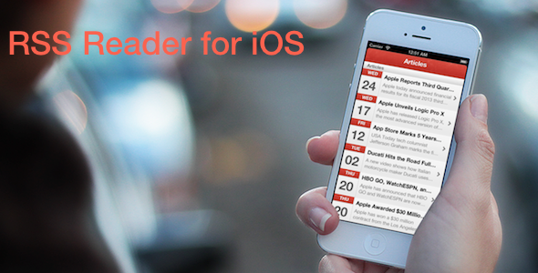 CodeCanyon RSS Reader for iPhone 5302082