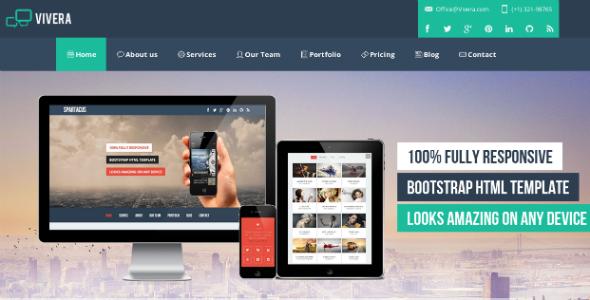 ThemeForest Vivera Multi-Purpose HTML Template 5302106