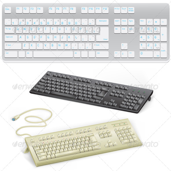 GraphicRiver Keyboard 5302151