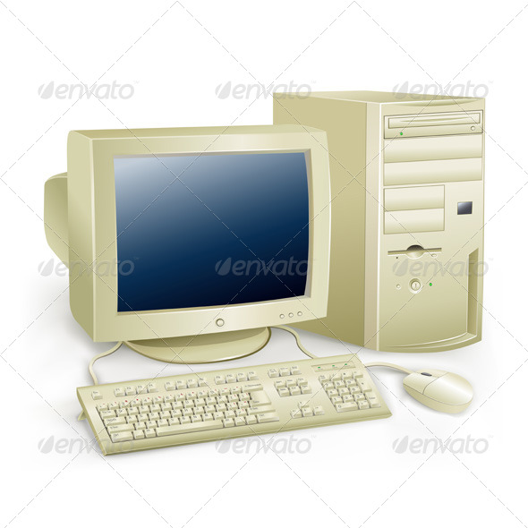 GraphicRiver Retro Computer 5302820