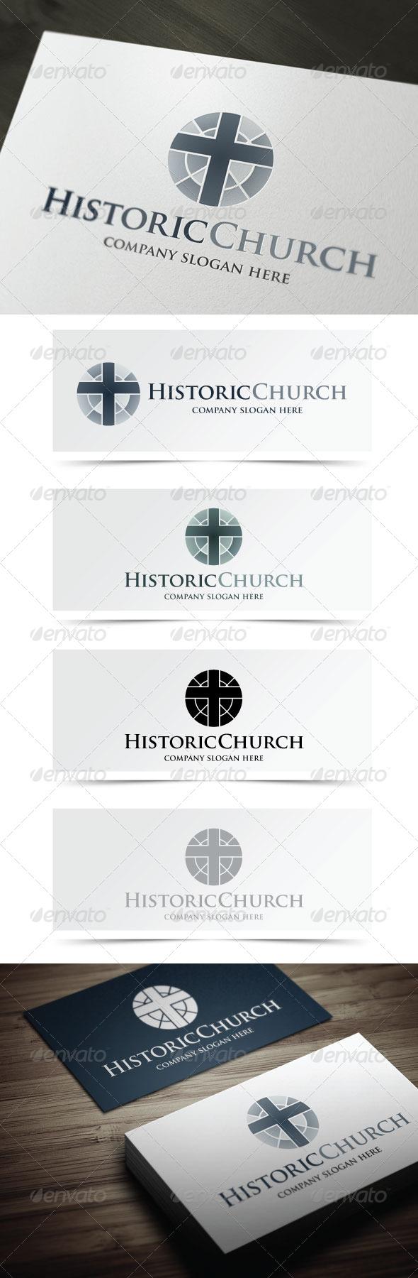 GraphicRiver Historic Church 5302854