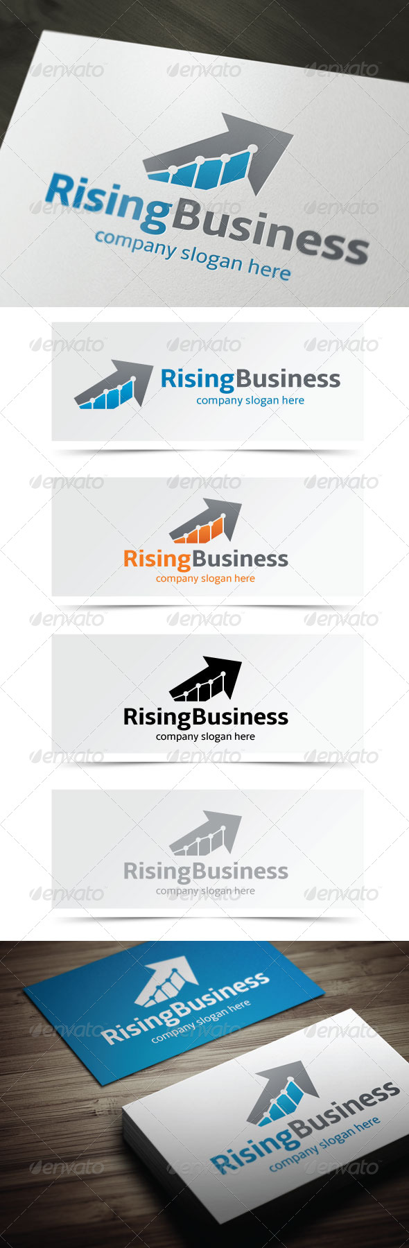GraphicRiver Rising Business 5302880