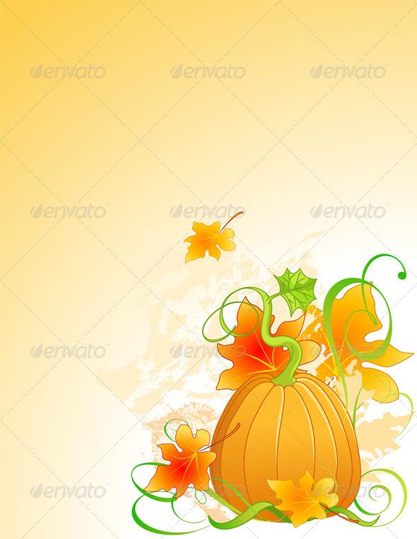 GraphicRiver Autumn Pumpkin 5302991