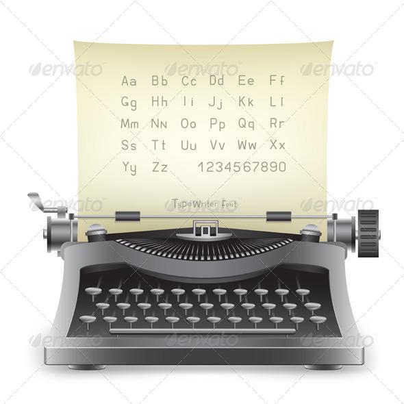 GraphicRiver Typewriter 5303000