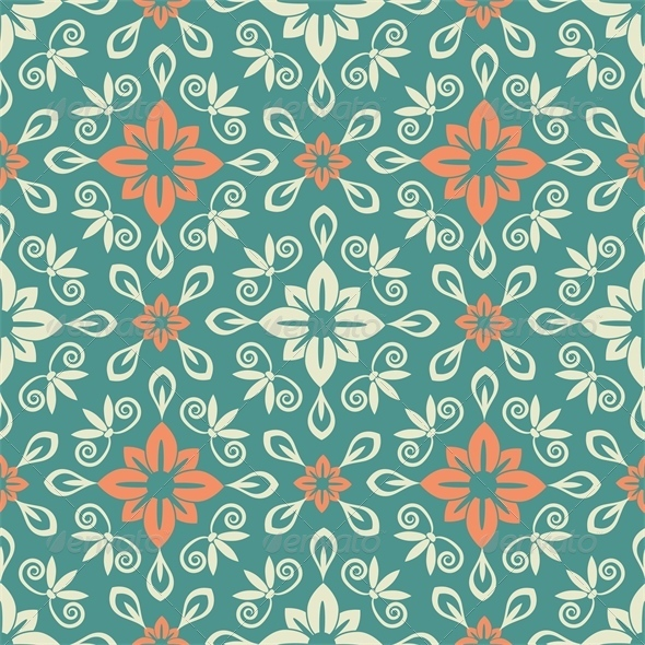 GraphicRiver Damask Pattern 5302999
