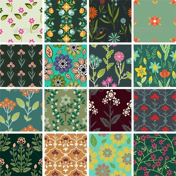 GraphicRiver Patterns Set 5303003