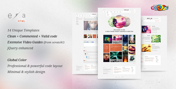 ThemeForest Era HTML Visual Performance 546472