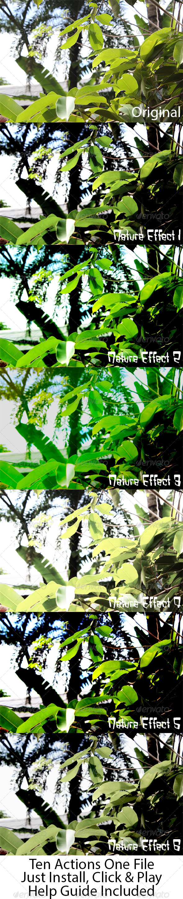 Photoshop Nature Effects - Photo Effects Actions