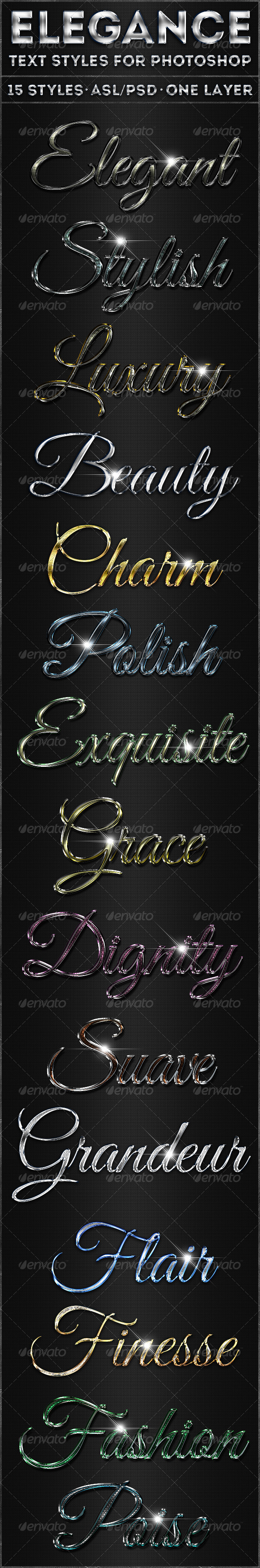 GraphicRiver Elegance Text Styles 5304529