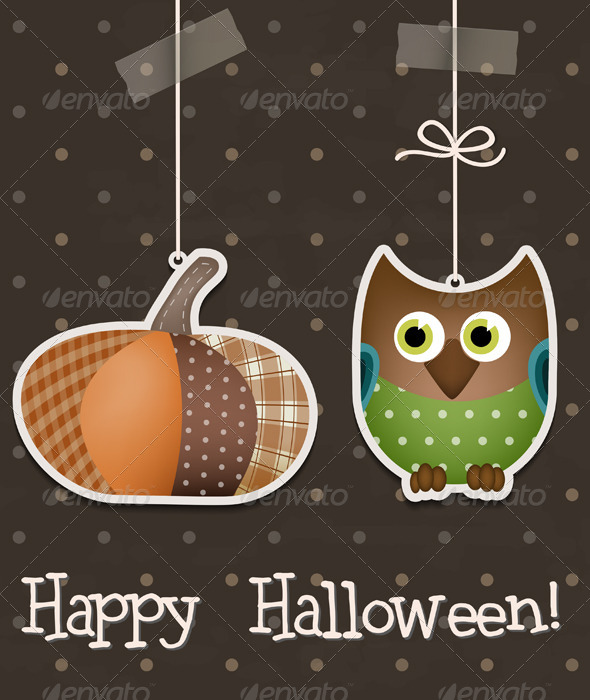 GraphicRiver Happy Halloween Background 5304565