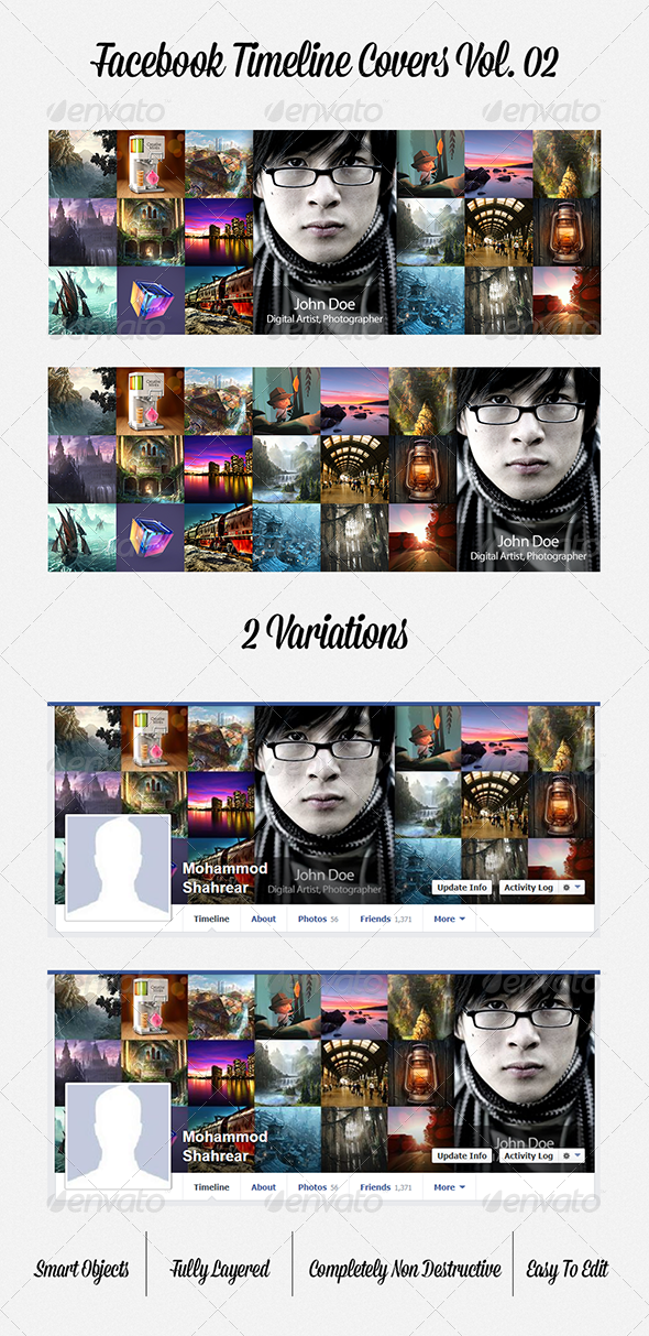 GraphicRiver Facebook Timeline Covers Vol 02 5304760