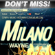 Milano Flyer/Poster Set + Ticket 5in1 - GraphicRiver Item for Sale