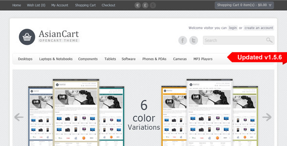 Download AsianCart Premium Opencart Theme nulled download