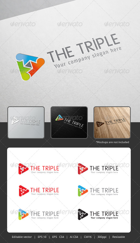 GraphicRiver The Triple Logo 5306931