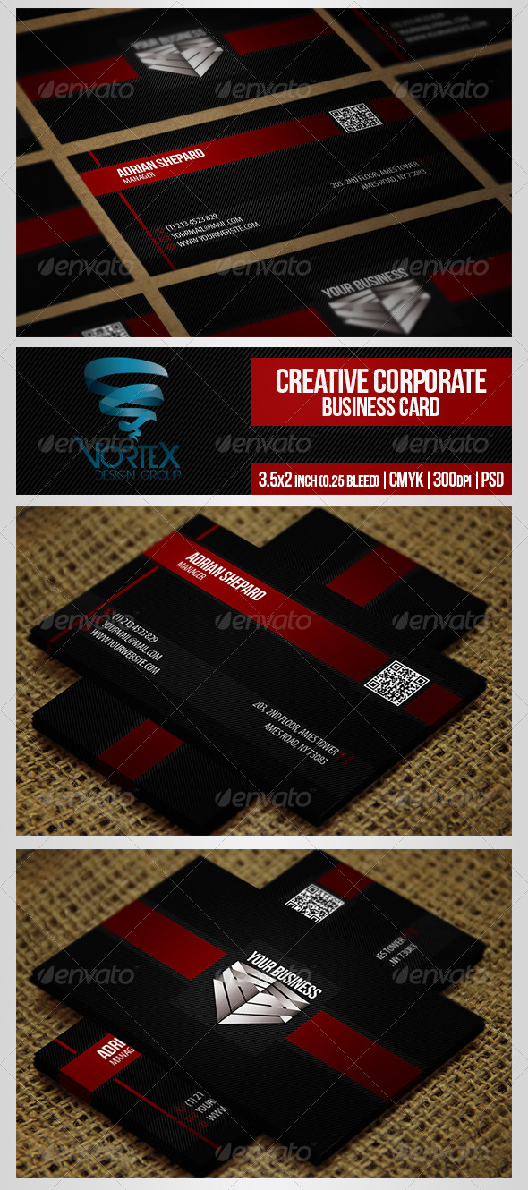 GraphicRiver Creative Corporate Business Card 5306935