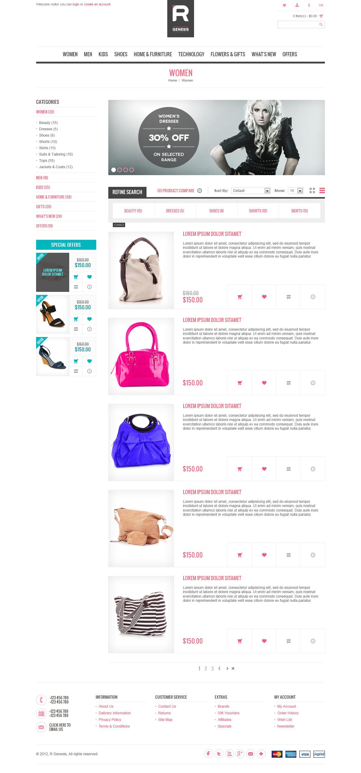 Cupid - R.Gen OpenCart Store Template