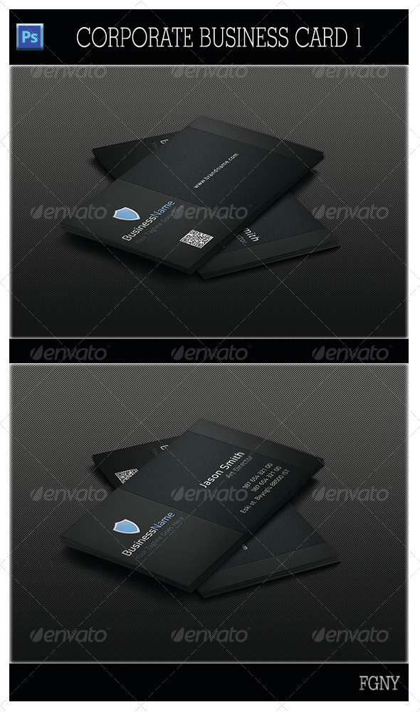 GraphicRiver Corporate Business Card 1 5307469