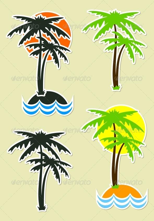 GraphicRiver Palm Trees 5308060