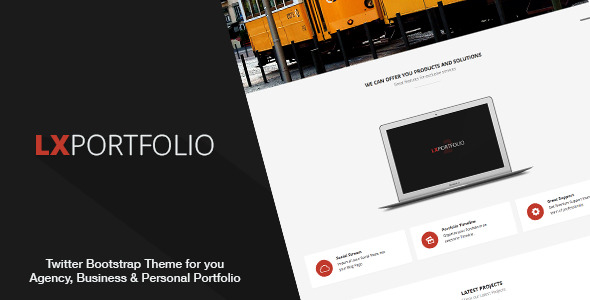 LXPortfolio 2 - Responsive Multi-Purpose Template