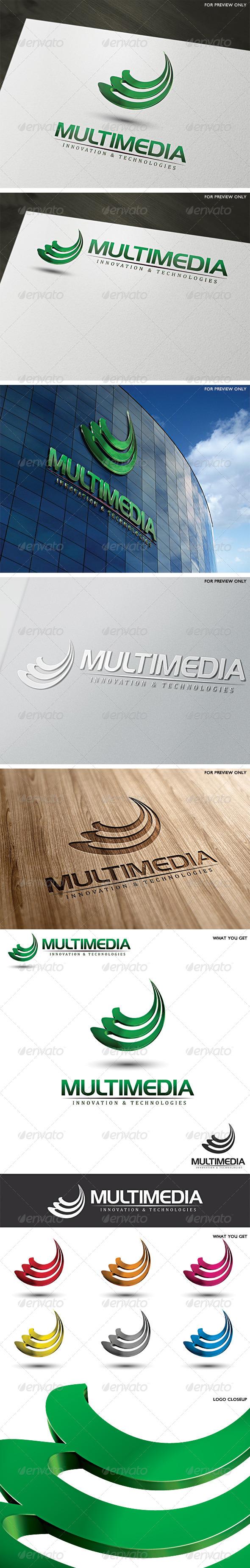 GraphicRiver 3D Multimedia Logo Template 5309514