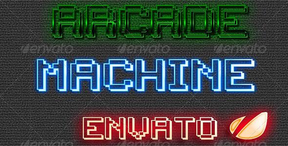 GraphicRiver Arcade Machine Layer 5249186