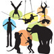 Set vector circus silhouette - GraphicRiver Item for Sale