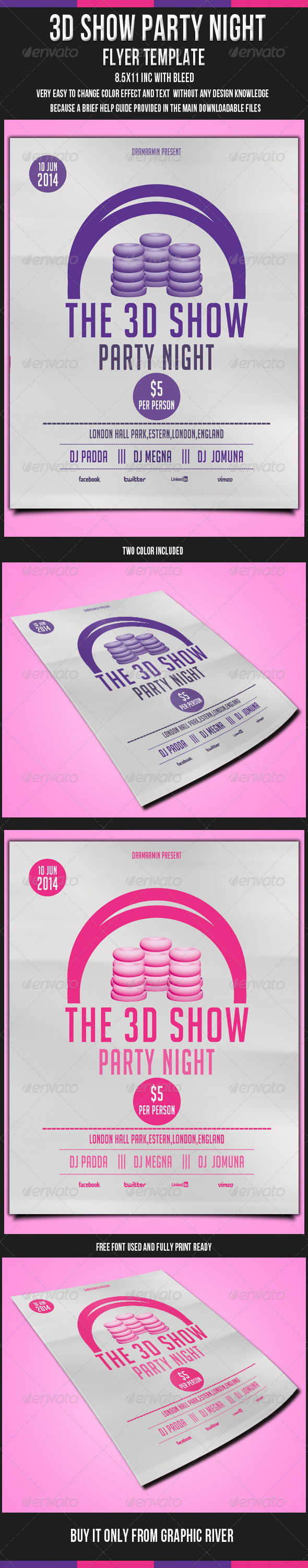GraphicRiver Event Flyer Template 2 5309821