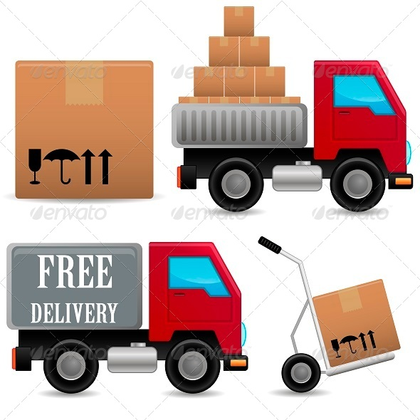 GraphicRiver Delivery Icons Set 5310151