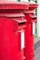 British traditional red mail boxes - PhotoDune Item for Sale