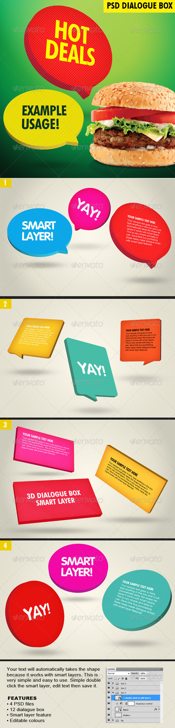 GraphicRiver 3D Dialogue Box 5310305